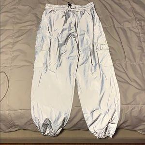 reflective cargo pants